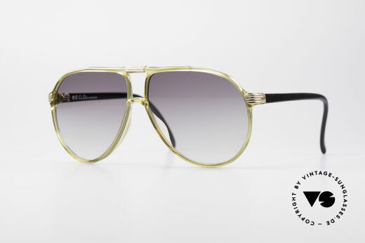 Christian Dior 2300 80's Optyl Sunglasses Details