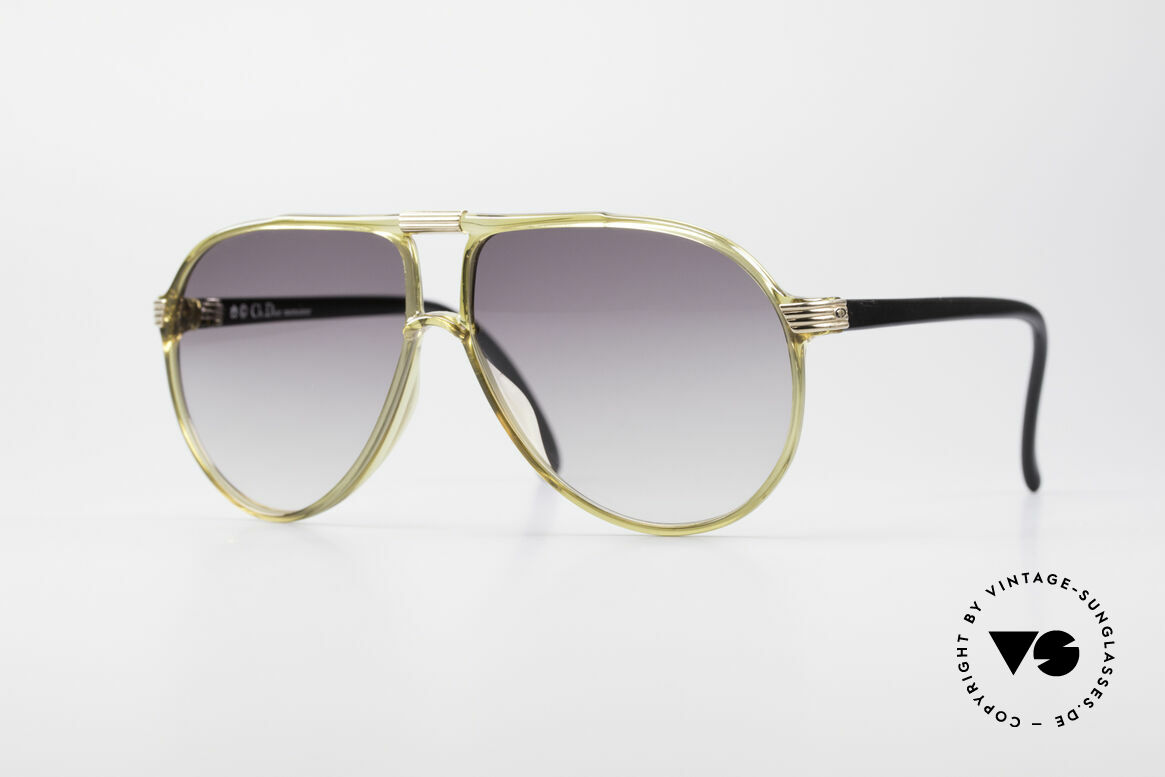 Christian Dior 2300 80's Optyl Sunglasses
