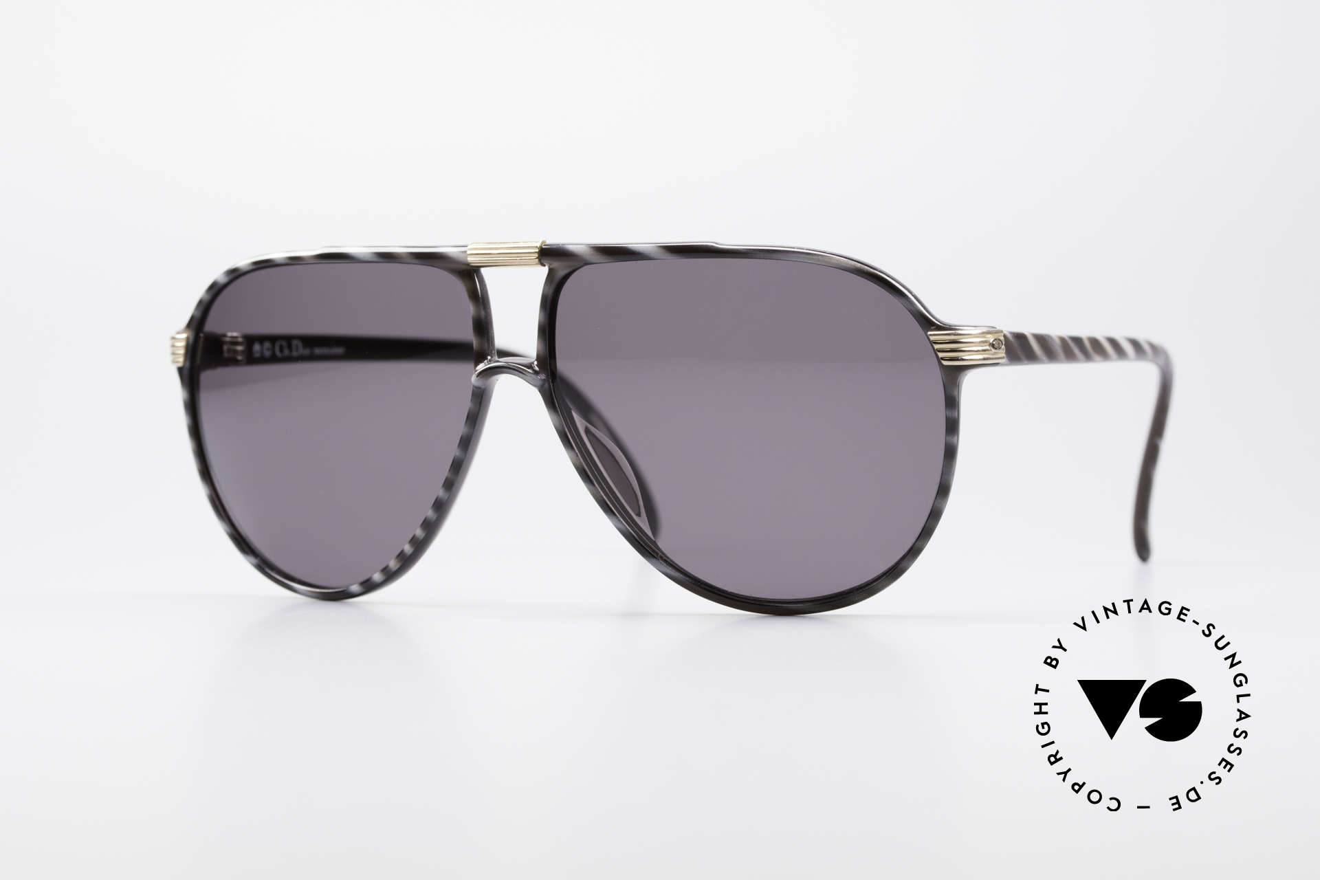 Christian Dior 2300 80's Monsieur Sunglasses, orig. Christian Dior vintage sunglasses from 1985, Made for Men