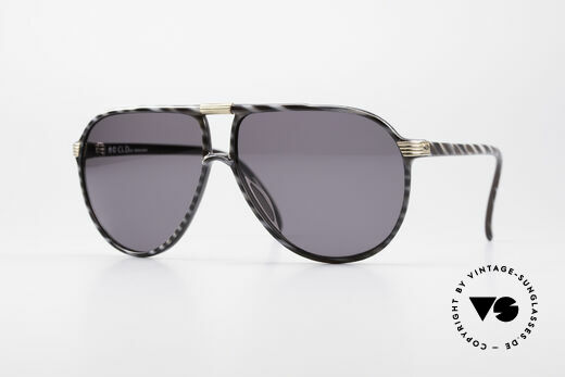 Christian Dior 2300 80's Monsieur Sunglasses Details