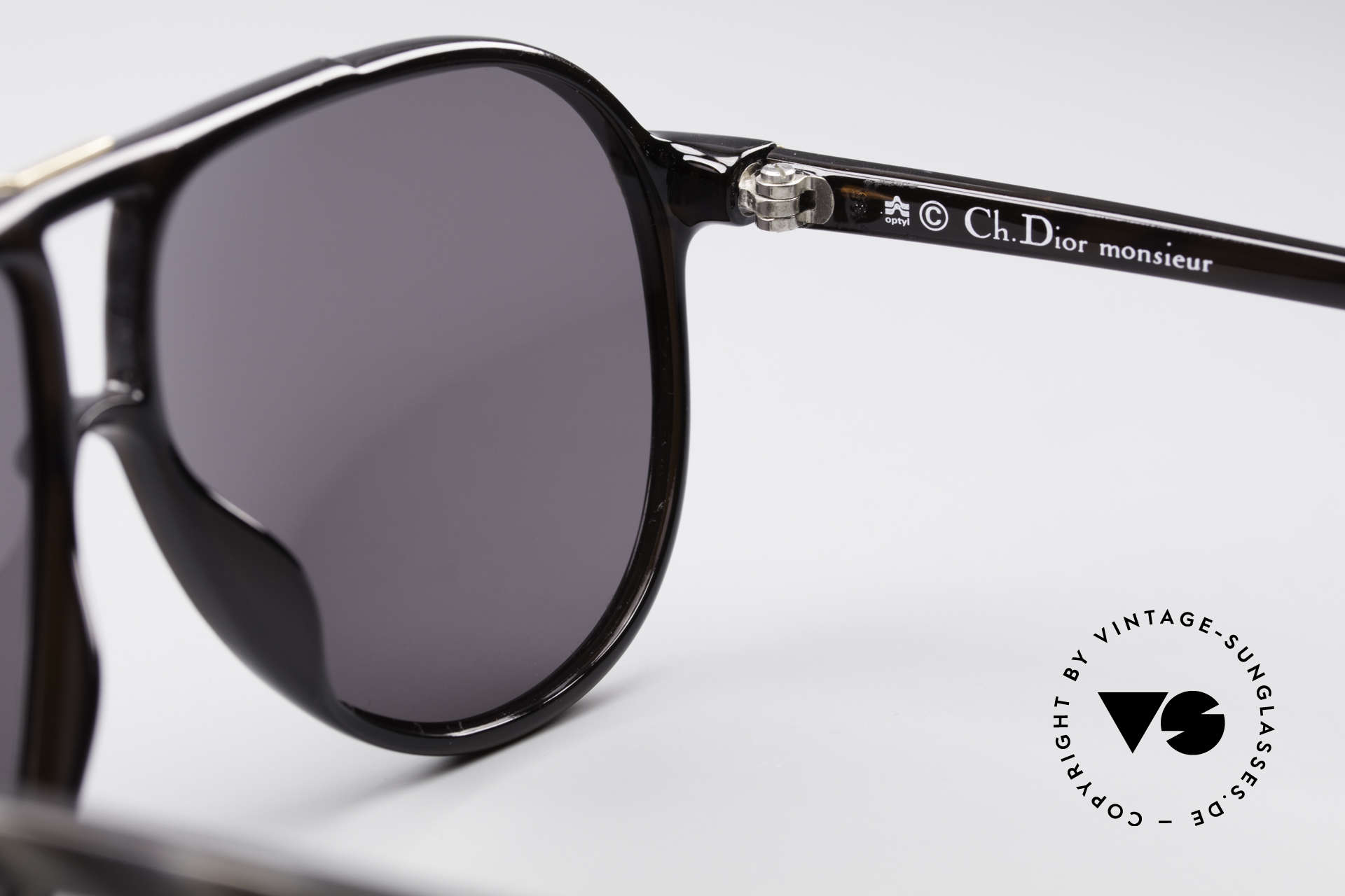 Christian Dior 2300 80's Monsieur Sunglasses, new old stock (like all our DIOR Monsieur shades), Made for Men
