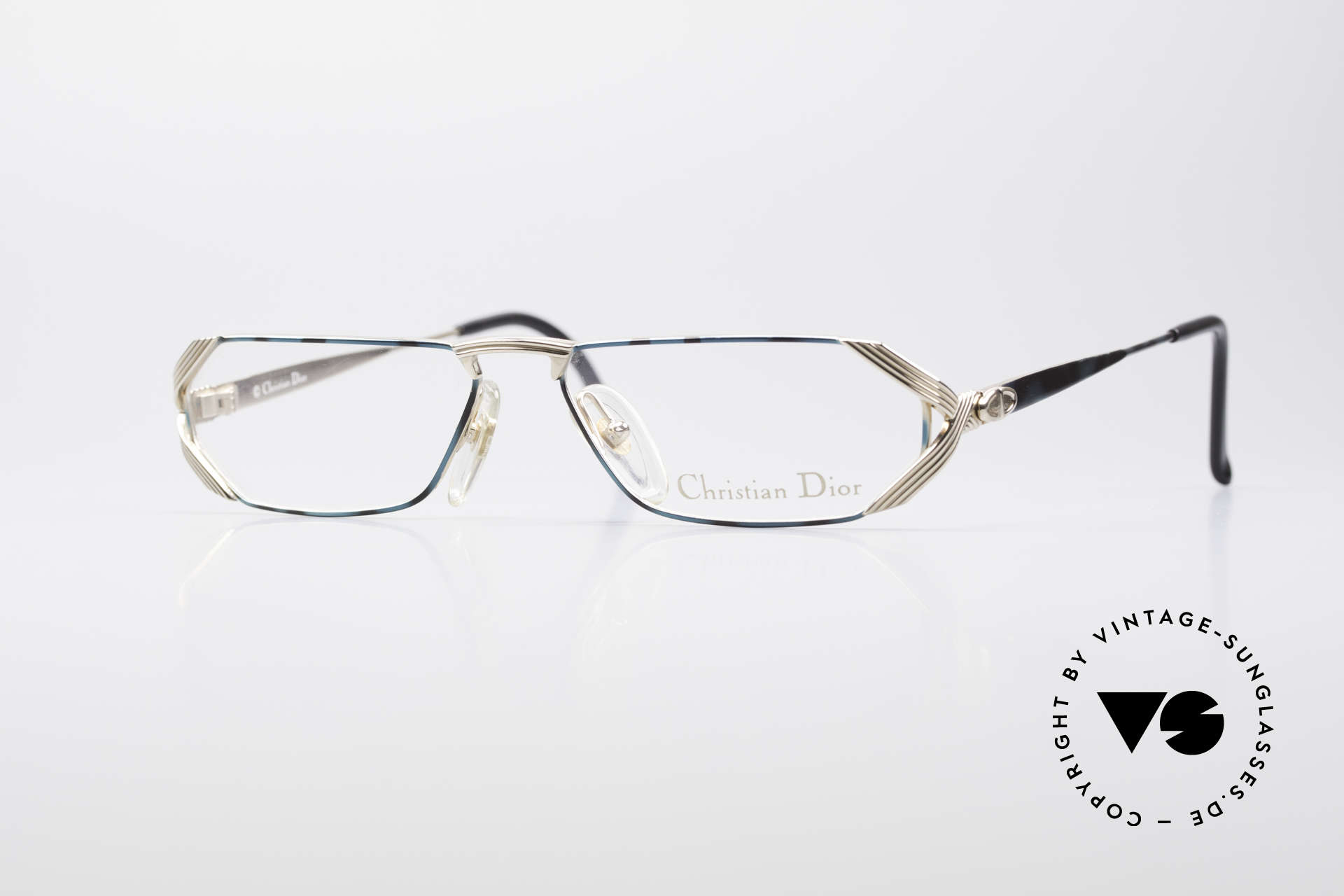 Christian Dior 2617 Vintage Reading Glasses, noble Christian Dior reading glasses from the 90's, Made for Men