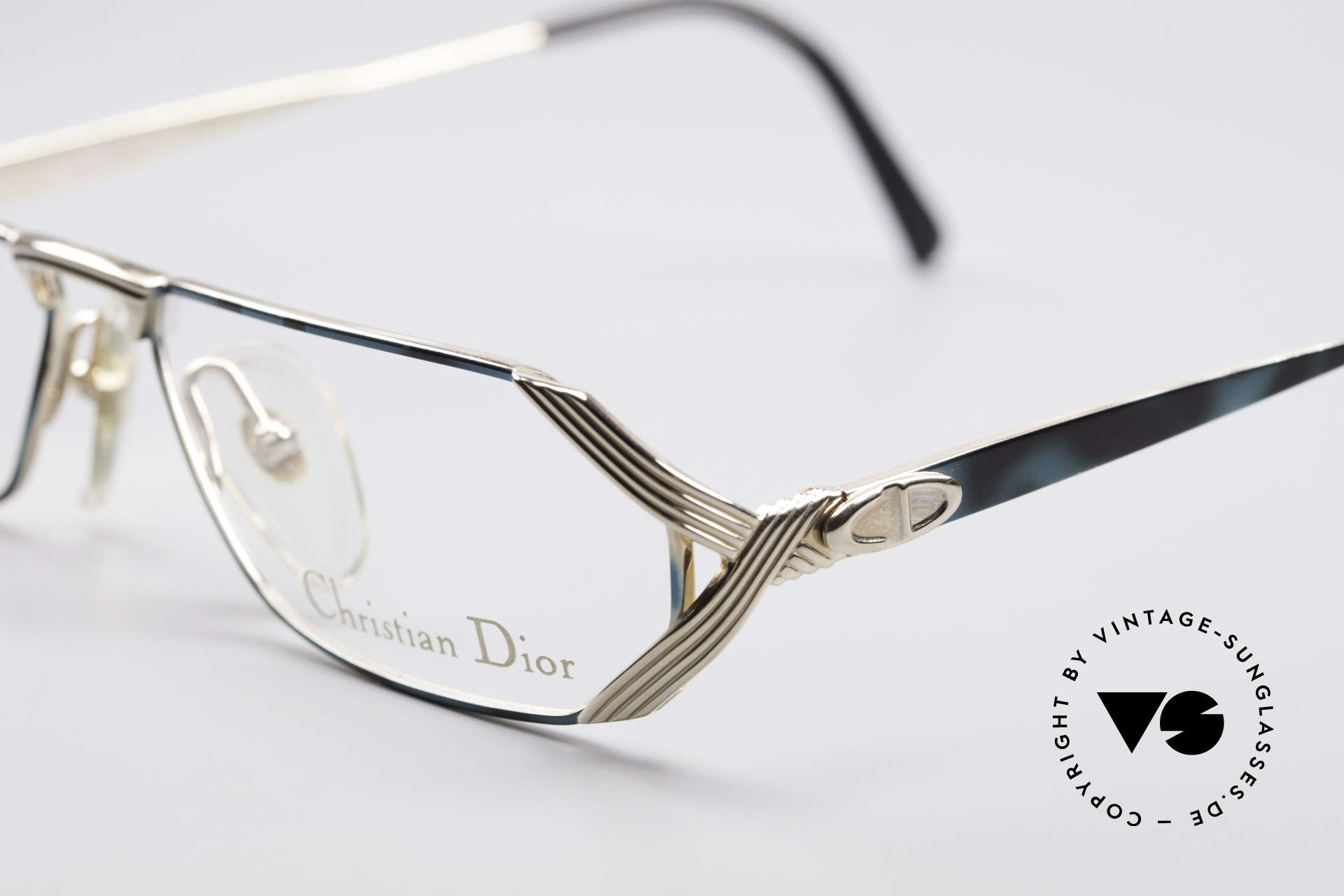 Christian Dior 2617 Vintage Reading Glasses, utterly top-notch craftsmanship - U must feel this!, Made for Men