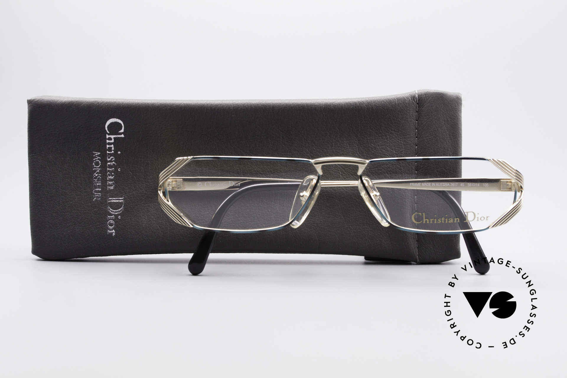 Christian Dior 2617 Vintage Reading Glasses, NO retro glasses, but a rare 25 years old ORIGINAL, Made for Men