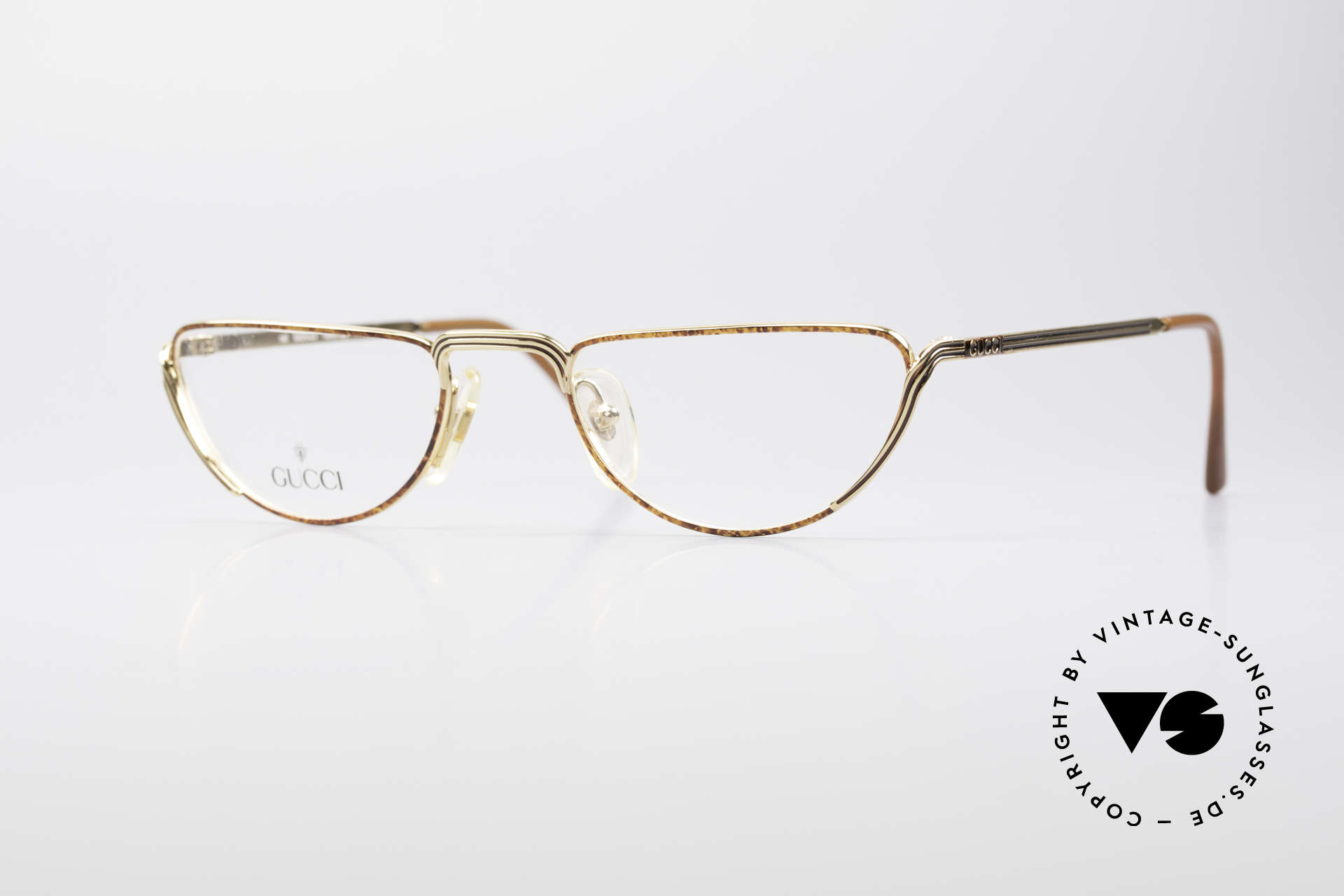 Gucci 2203 Vintage Reading Glasses 80's, vintage designer reading glasses from the 80's, Made for Men and Women