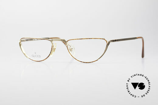 Gucci 2203 Vintage Reading Glasses 80's Details