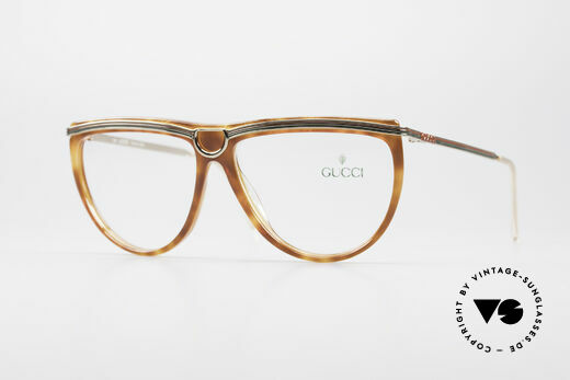 Gucci 2303 Ladies Eyeglasses 80's Details