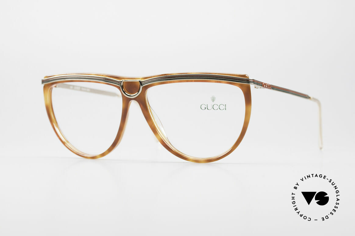Gucci 2303 Ladies Eyeglasses 80's, utterly elegant vintage 80's eyeglasses by GUCCI, Made for Women
