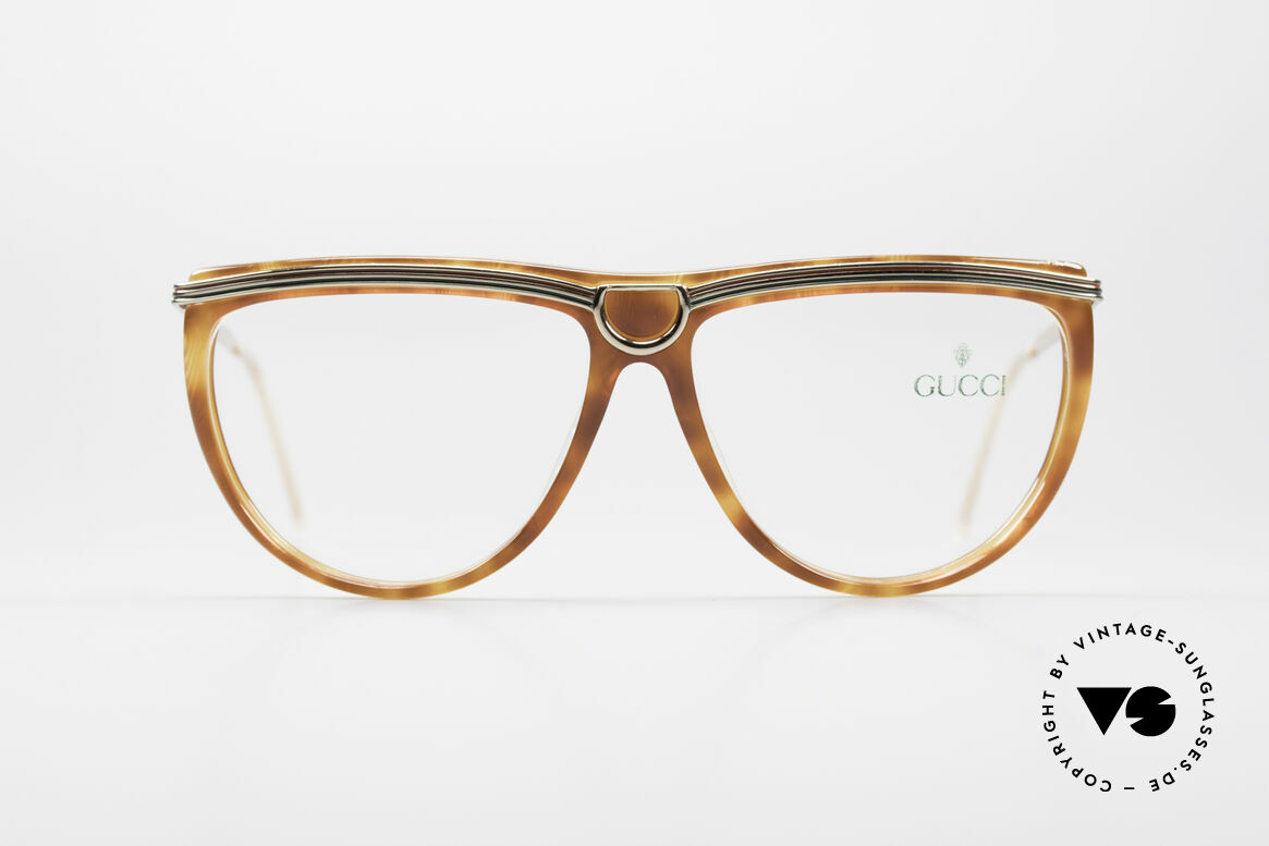 Gucci 2303 Ladies Eyeglasses 80's, great combination of materials & colors; timeless!, Made for Women