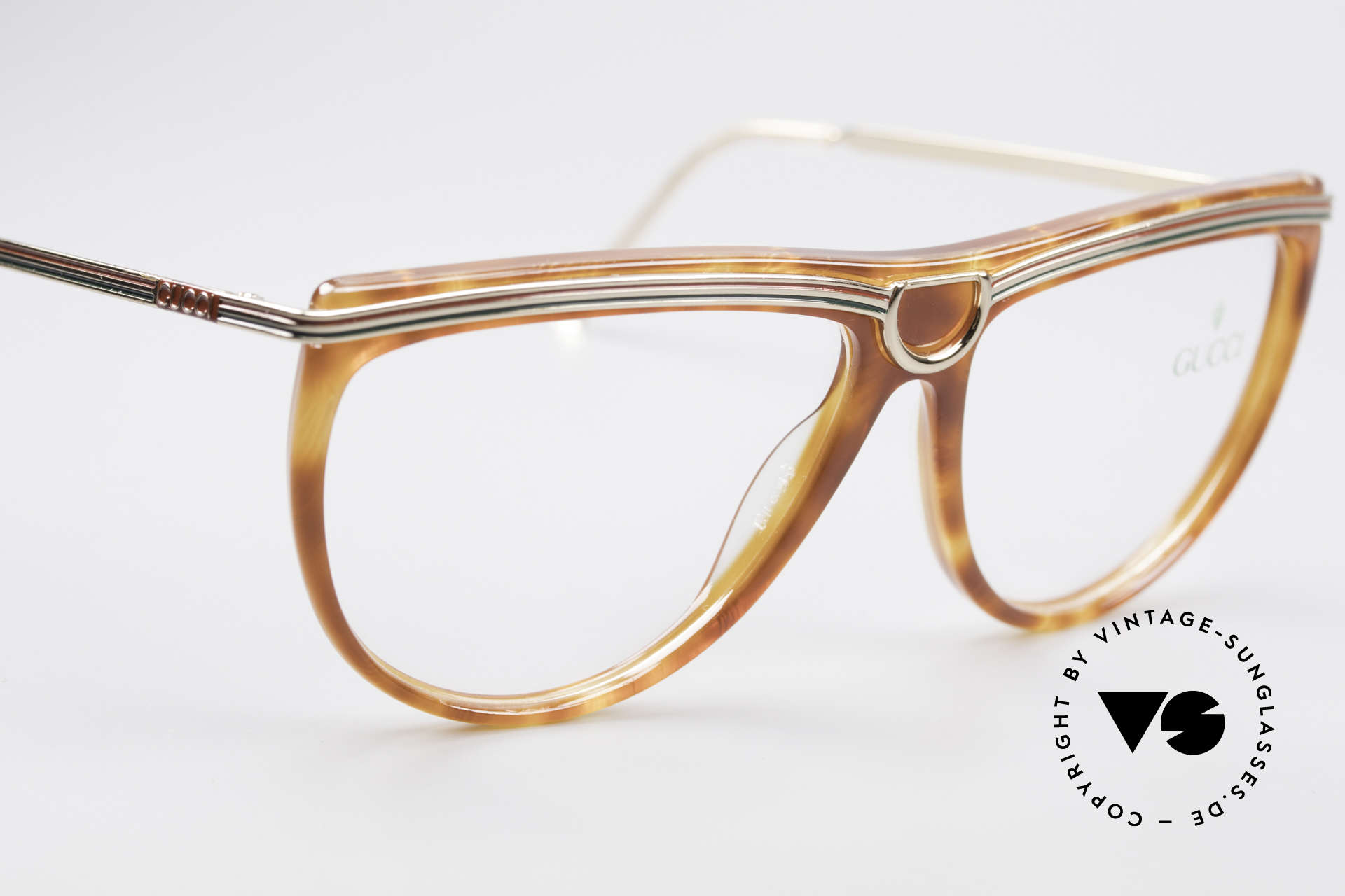 Gucci 2303 Ladies Eyeglasses 80's, NO RETRO EYEWEAR, but a unique old ORIGINAL!, Made for Women
