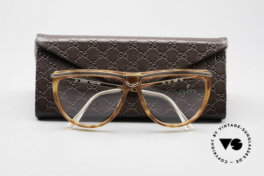 Gucci 2303 Ladies Eyeglasses 80's, frame can be glazed with optical lenses / sun lenses, Made for Women
