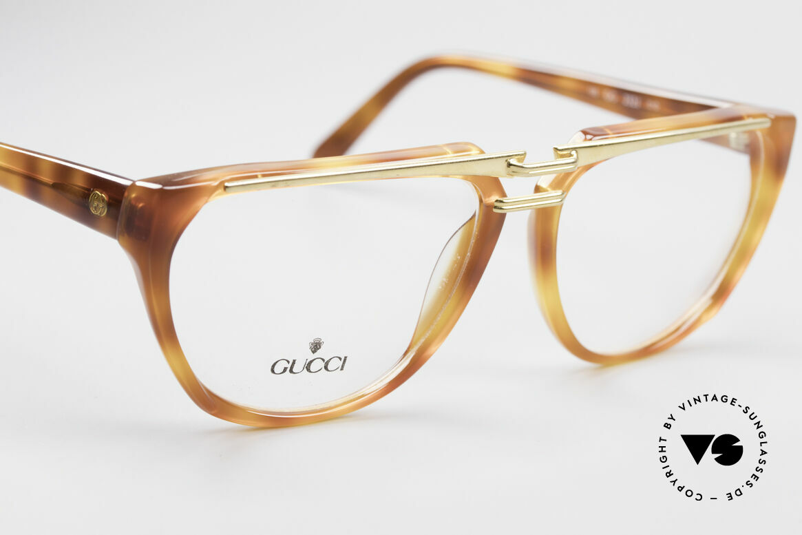 Gucci 2321 Ladies Designer Glasses 80's, NO RETRO fashion, but real 1980's retail commodity, Made for Women
