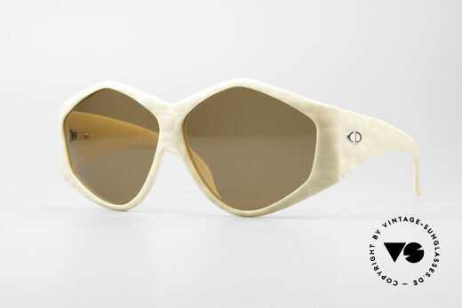 Christian Dior 2230 Oversized XXL Sunglasses Details