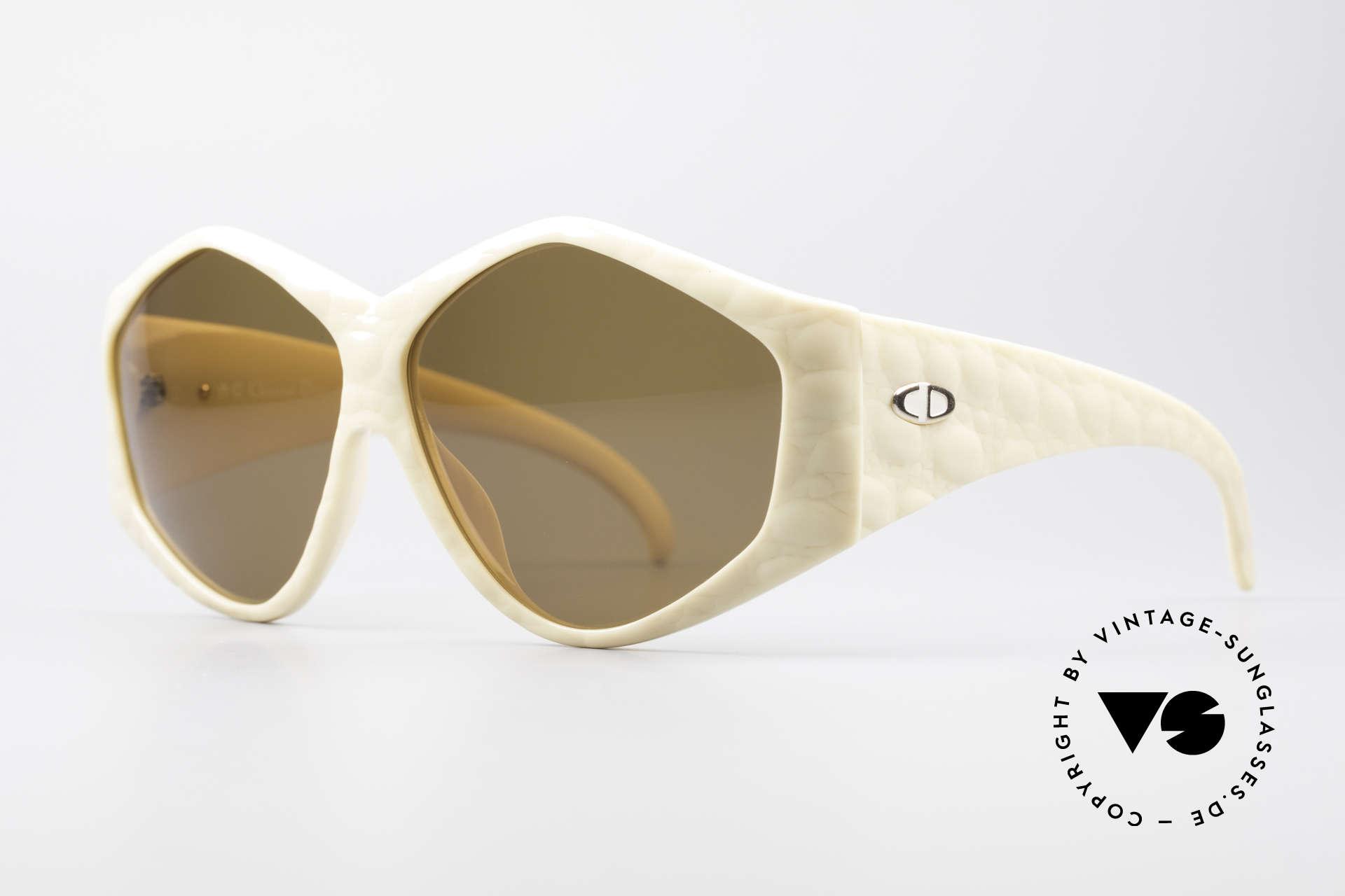 Christian Dior 2230 Oversized XXL Sunglasses, but still lightweight (Optyl-material) & 1. class comfort, Made for Women