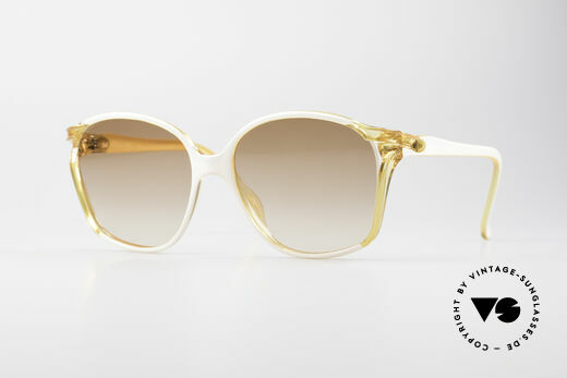Christian Dior 2286 80's Ladies Sunglasses Details