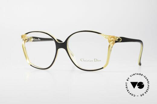 Christian Dior 2286 80's Ladies Designer Frame Details