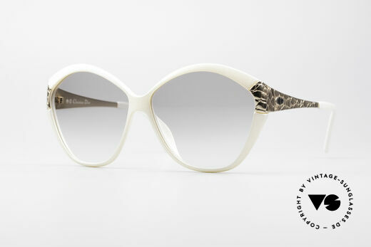 Christian Dior 2319 80's Ladies Designer Shades Details