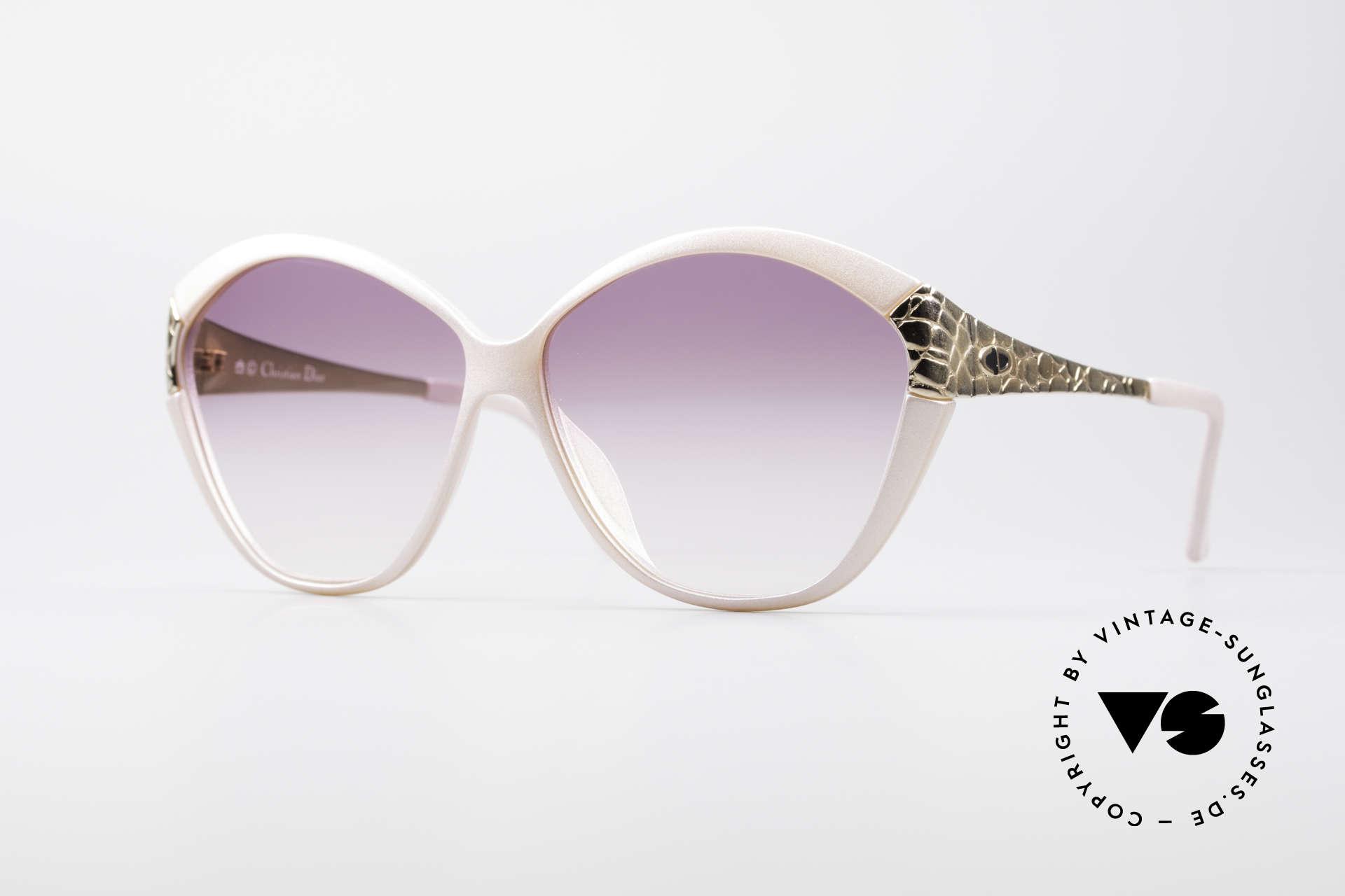 Christian Dior 2319 Pink Ladies Designer Shades, oversized vintage DIOR designer sunglasses, Made for Women