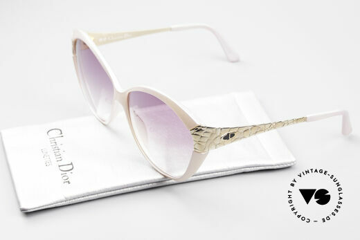 Christian Dior 2319 Pink Ladies Designer Shades, NO retro fashion, but an old rarity from 1986!, Made for Women