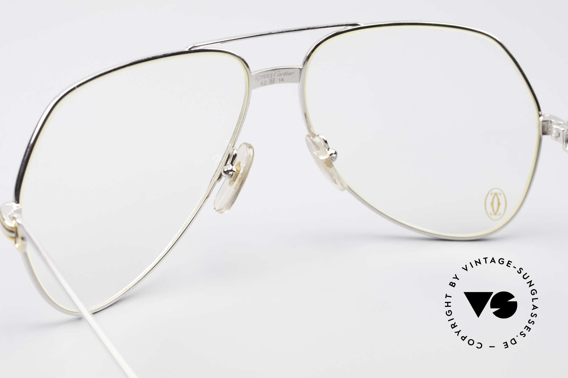 Cartier Vendome LC - L Platinum Finish Frame Luxury, rare & expensive edition with platinum finish; LUXURY!, Made for Men