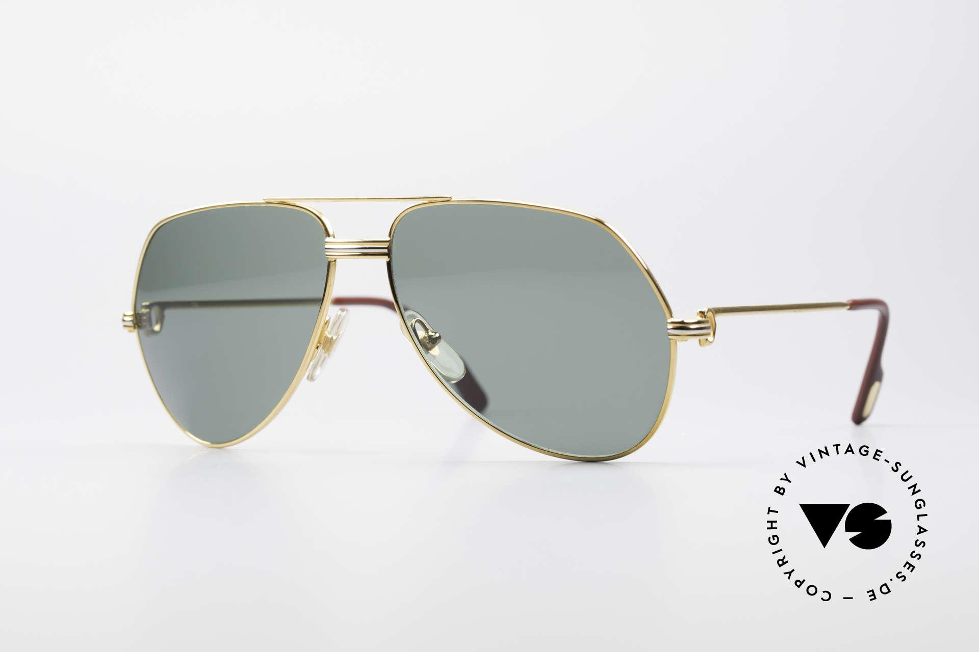 Cartier Vendome LC - M David Bowie Sunglasses, Vendome = the most famous eyewear design by CARTIER, Made for Men