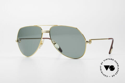 Cartier Vendome LC - M David Bowie Sunglasses Details