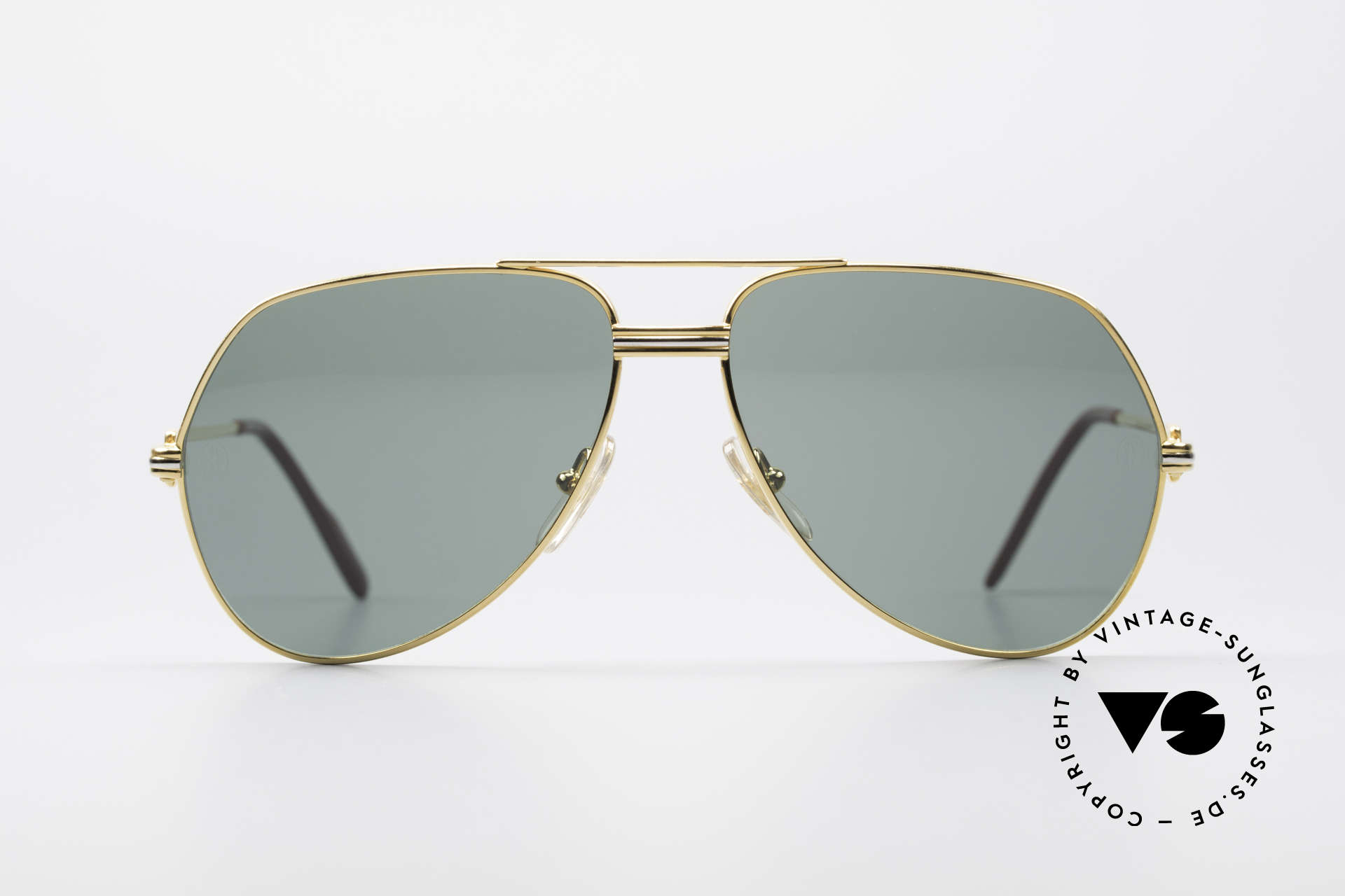 """Cartier Vendome LC - M David Bowie Sunglasses, mod. """"Vendome"""" was launched in 1983 & made till 1997, Made for Men"""