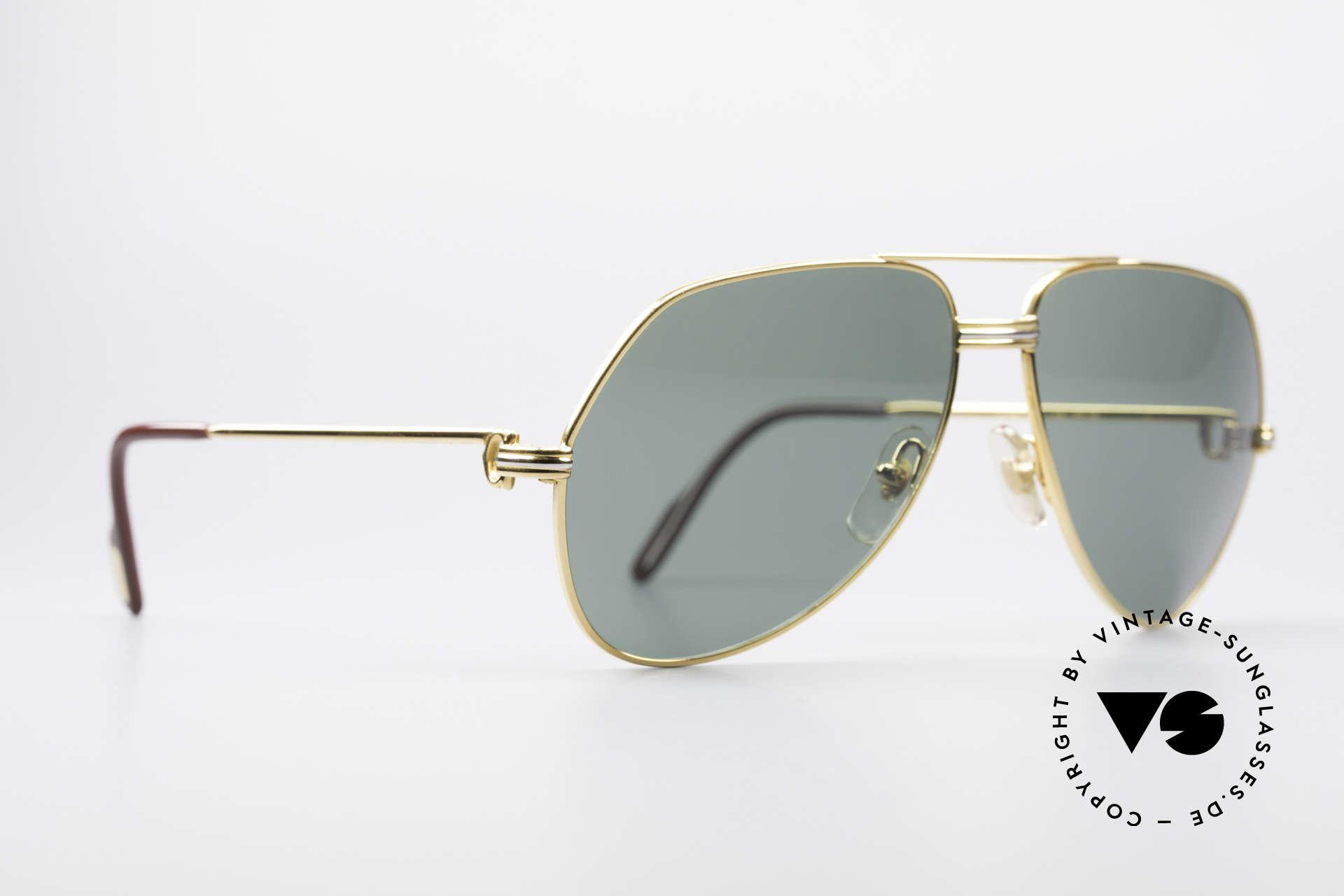 Cartier Vendome LC - M David Bowie Sunglasses, this pair (with L.Cartier decor): MEDIUM size 59-14,140, Made for Men