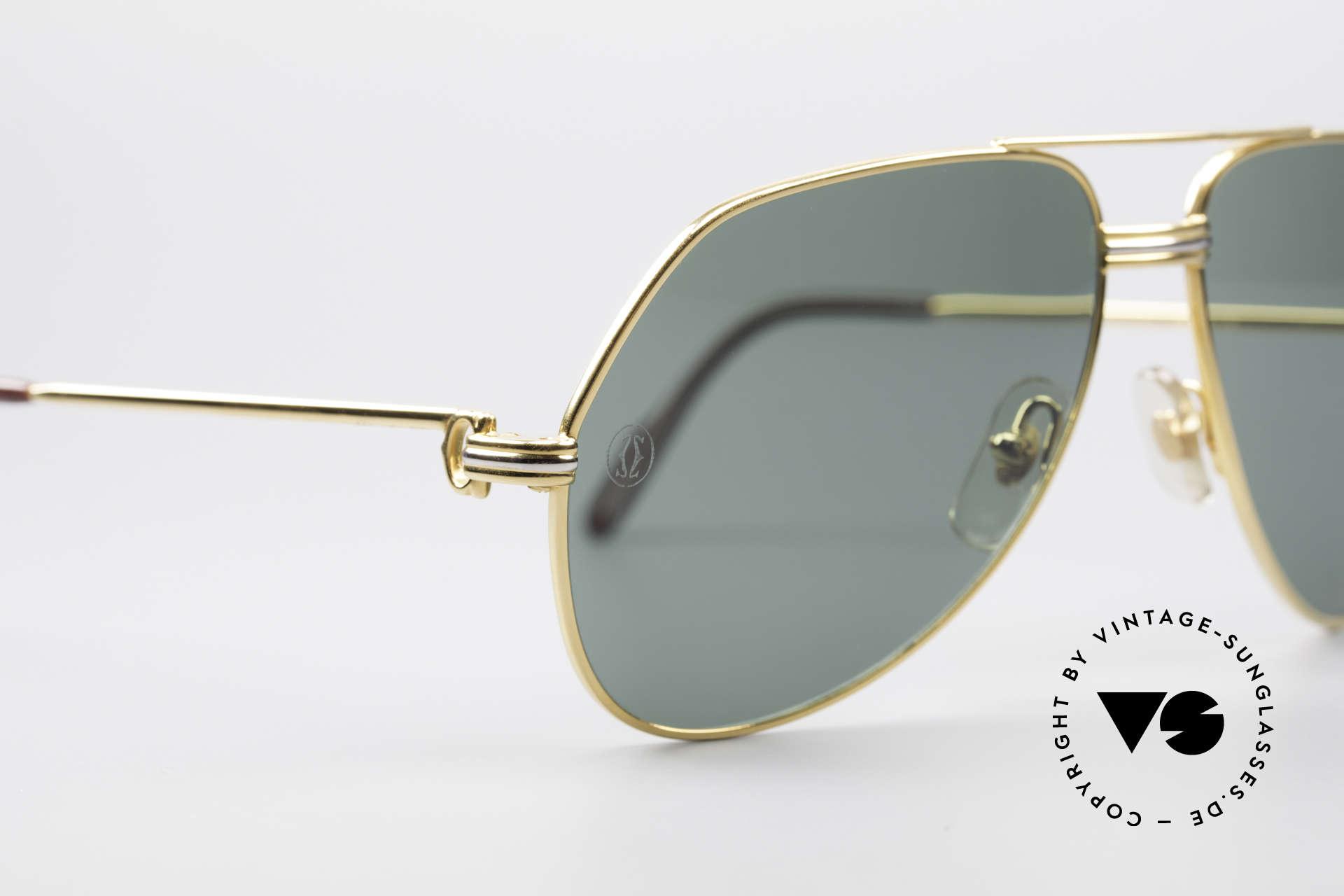 Cartier Vendome LC - M David Bowie Sunglasses, worn by musician David Bowie (festival de Cannes, '83), Made for Men