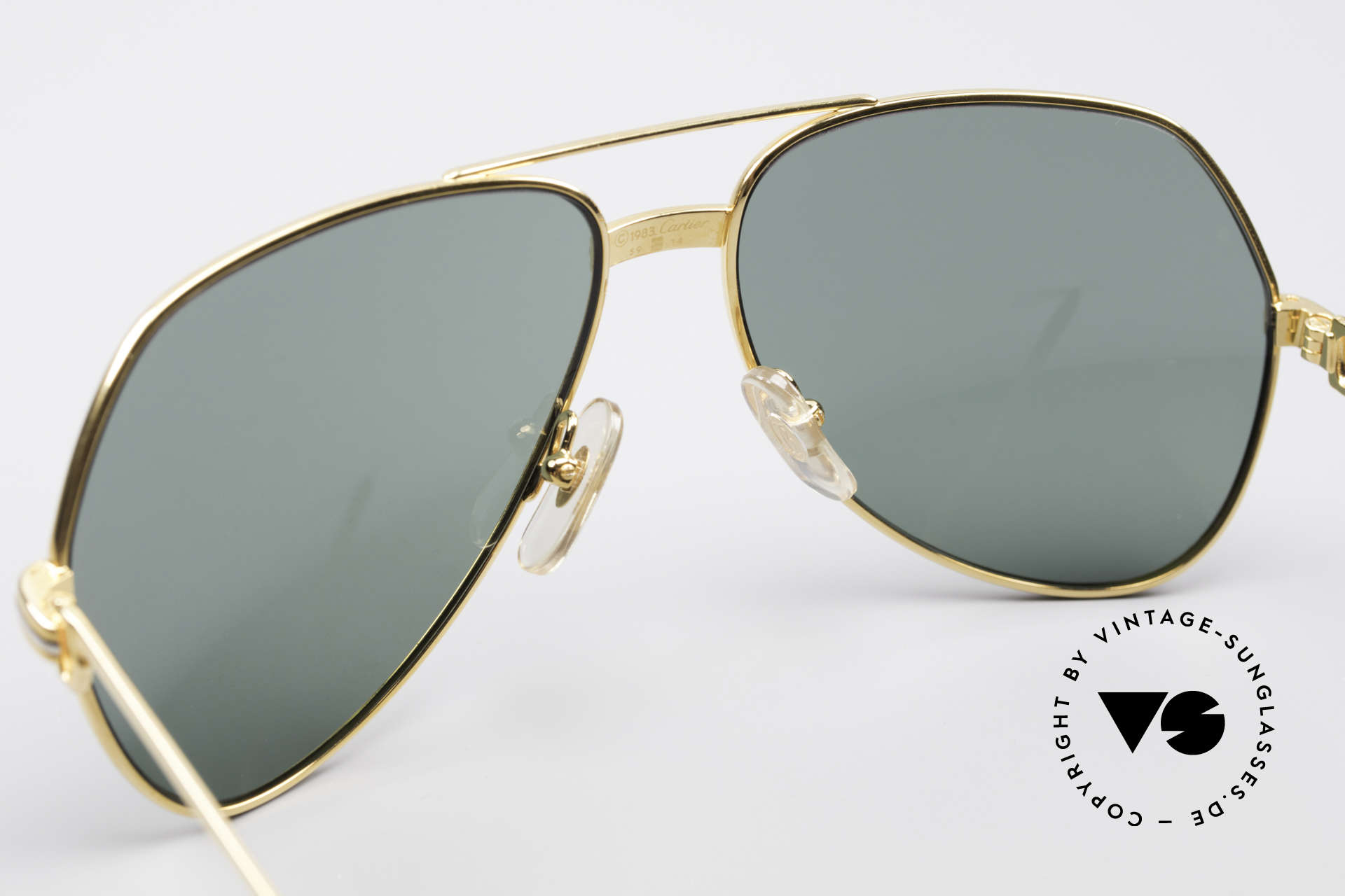 Cartier Vendome LC - M David Bowie Sunglasses, unworn rarity: hard to find in this condition, these days, Made for Men