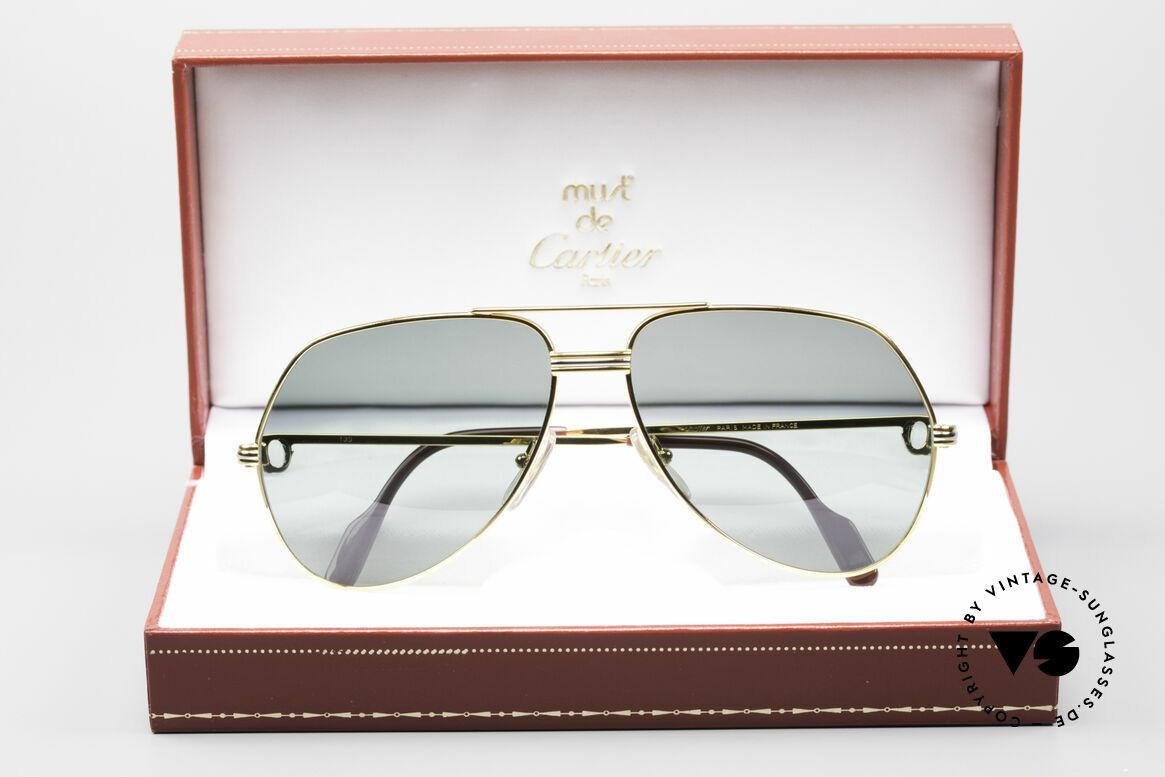 Cartier Vendome LC - M David Bowie Sunglasses, NO retro sunglasses, but an authentic vintage ORIGINAL, Made for Men