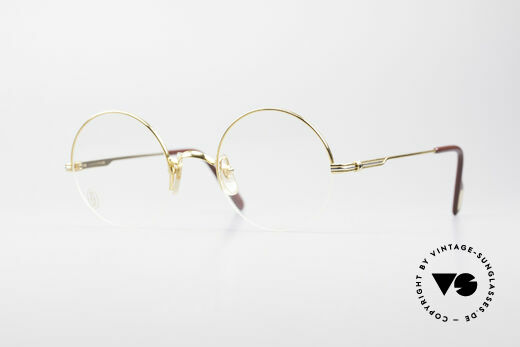 Cartier Mayfair Luxury Round Eyeglasses Details