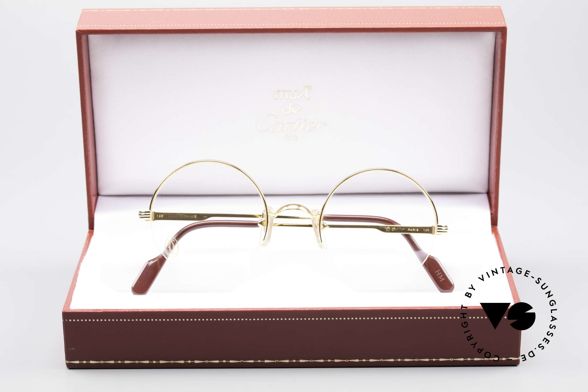 b1c8f9b884 Glasses Cartier Mayfair - S Luxury Round Eyeglasses