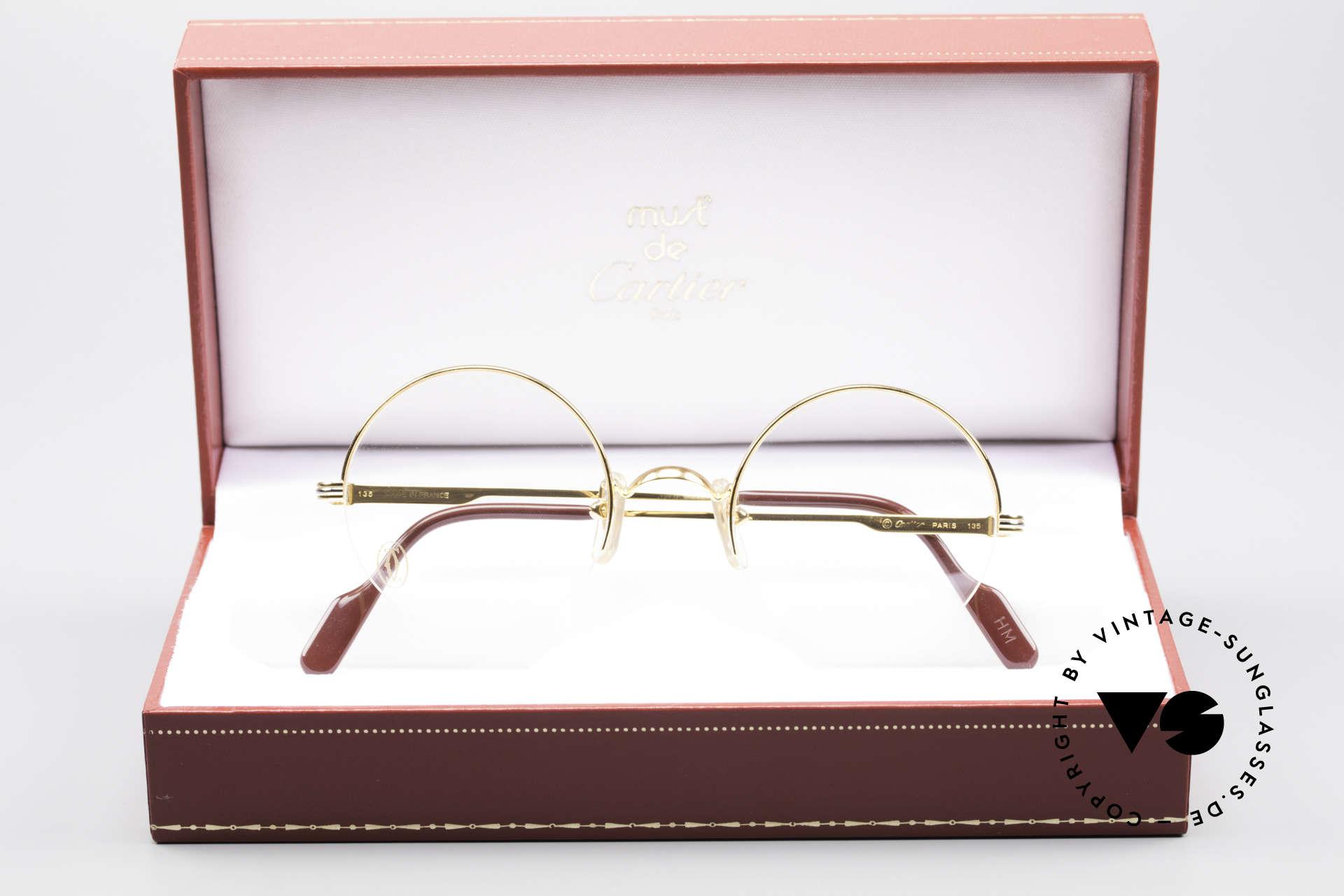 236dbc540 Glasses Cartier Mayfair - S Luxury Round Eyeglasses | Vintage Sunglasses