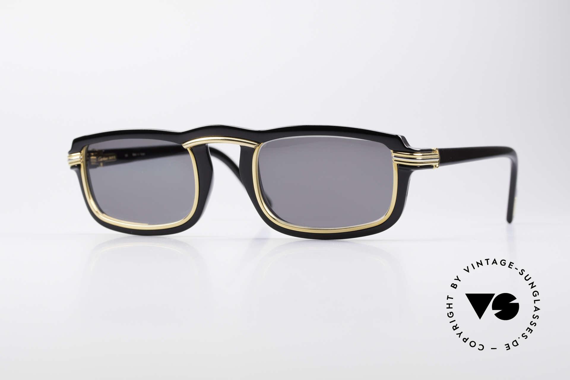 d763ba160378 Sunglasses Cartier Vertigo 90 s Luxury Sunglasses