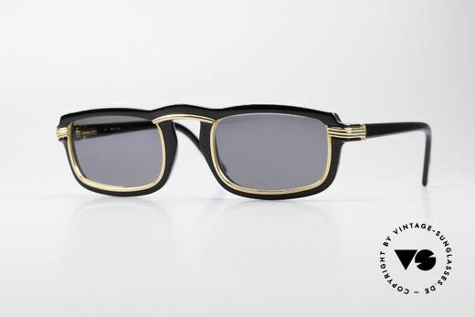 Cartier Vertigo 90's Luxury Sunglasses Details
