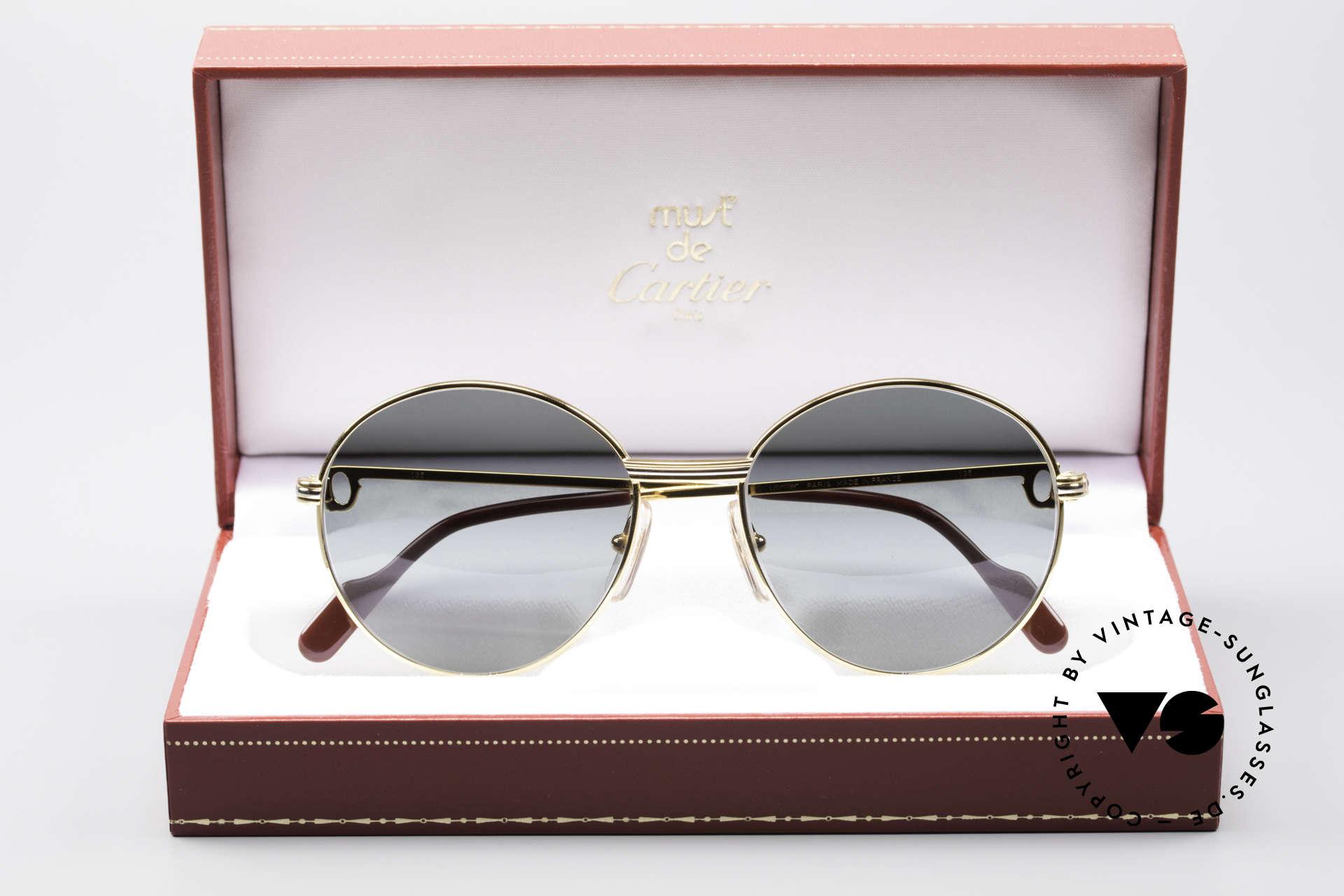 ffa64e69999d1 Sunglasses Cartier Round Panto Customized Special Edition