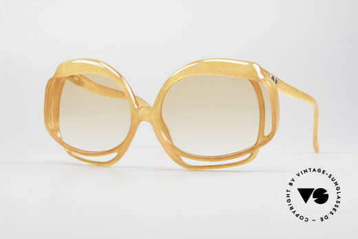 Christian Dior 2026 XXL Oversized 70's Shades Details