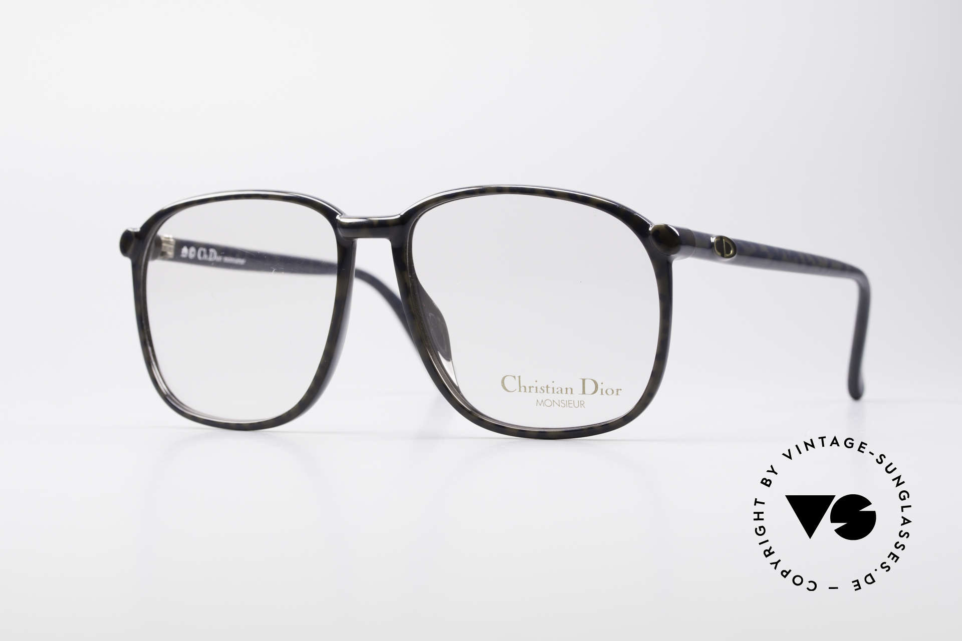 "Christian Dior 2341 80's Optyl Monsieur Glasses, finest glasses of the Dior ""Monsieur""-Series from 1986, Made for Men"