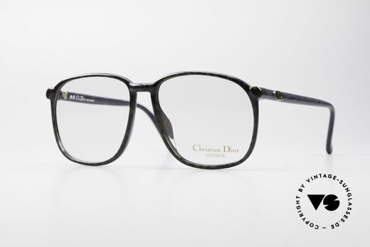 Christian Dior 2341 80's Optyl Monsieur Glasses Details