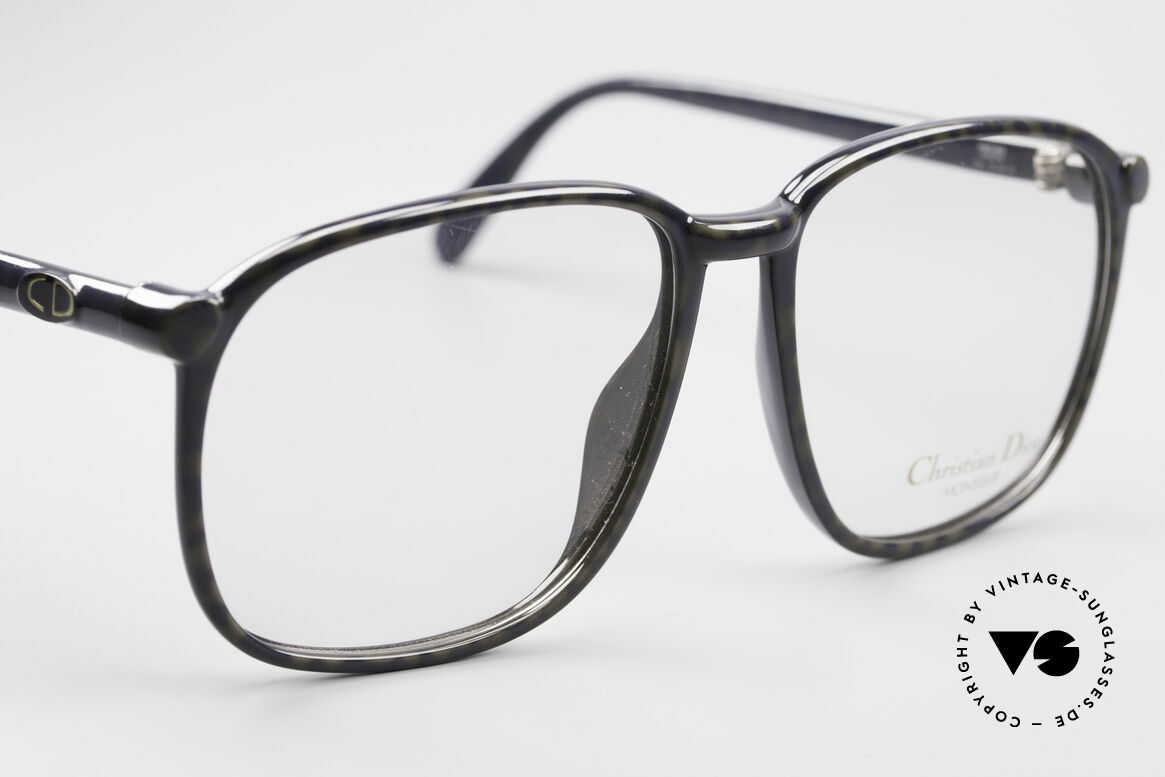 Christian Dior 2341 80's Optyl Monsieur Glasses, NO RETRO eyeglasses, but a costly old 80's ORIGINAL, Made for Men