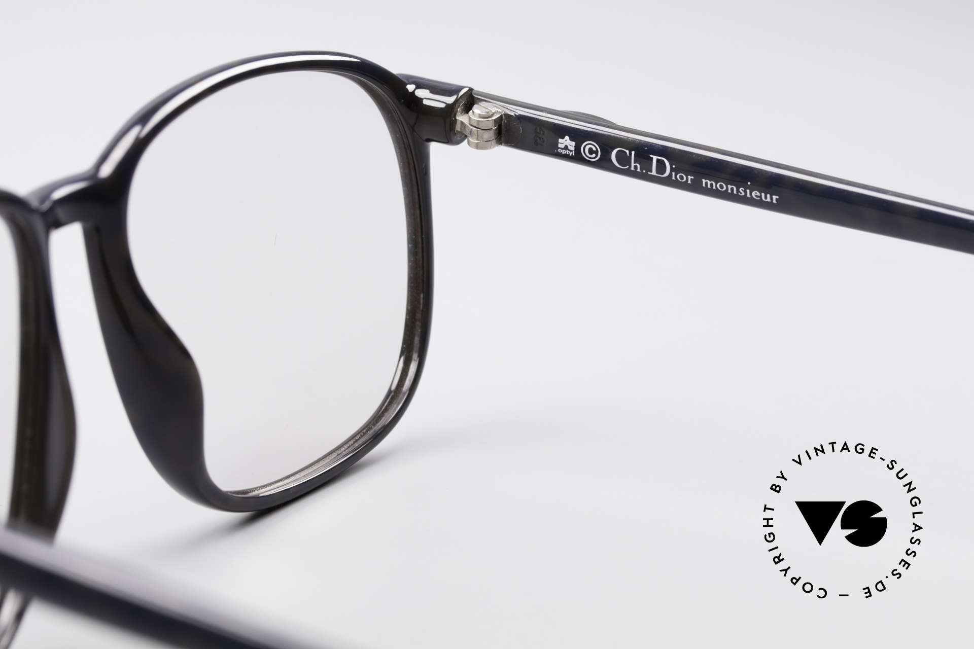 Christian Dior 2341 80's Optyl Monsieur Glasses, demo lenses can be replaced with optical (sun) lenses, Made for Men