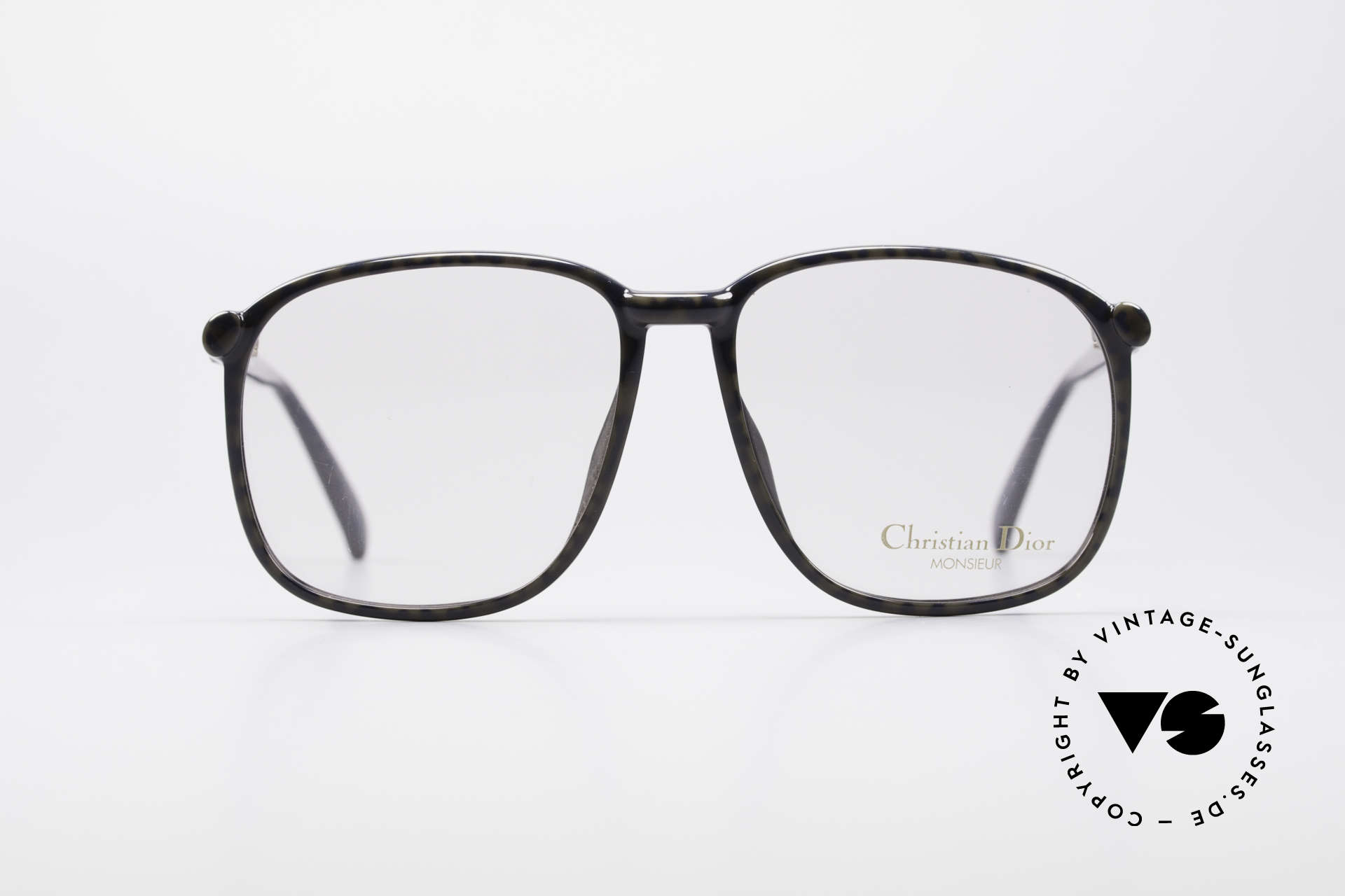 Christian Dior 2341 80's Optyl Monsieur Glasses, made of incredible OPTYL material (timeless quality), Made for Men