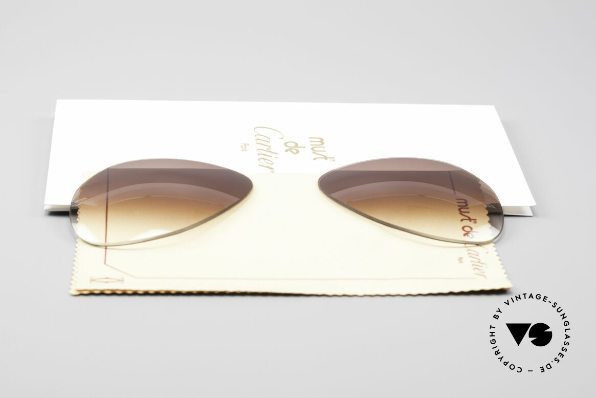 Cartier Vendome Lenses - M Sun Lenses Brown Gradient