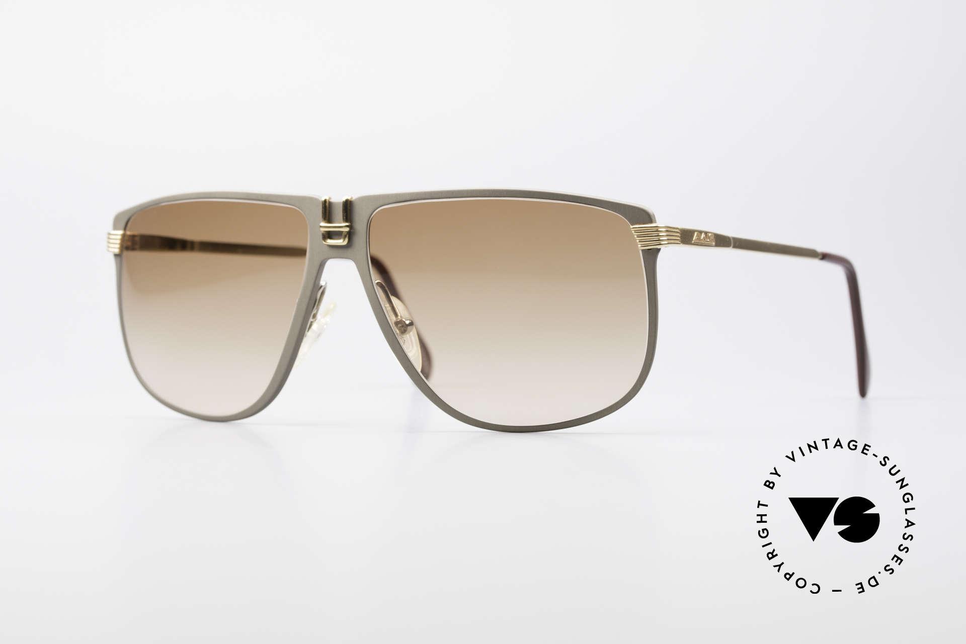 AVUS 210-30 West Germany Sunglasses, handmade AVUS vintage 1980's designer sunglasses, Made for Men