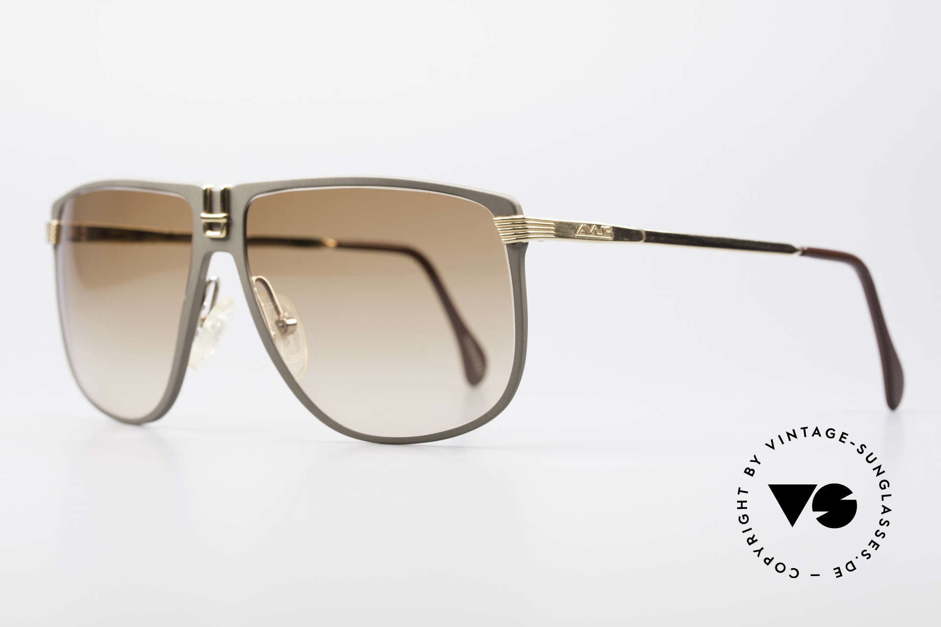 AVUS 210-30 West Germany Sunglasses, made in the same factory like the legendary Alpina M1, Made for Men