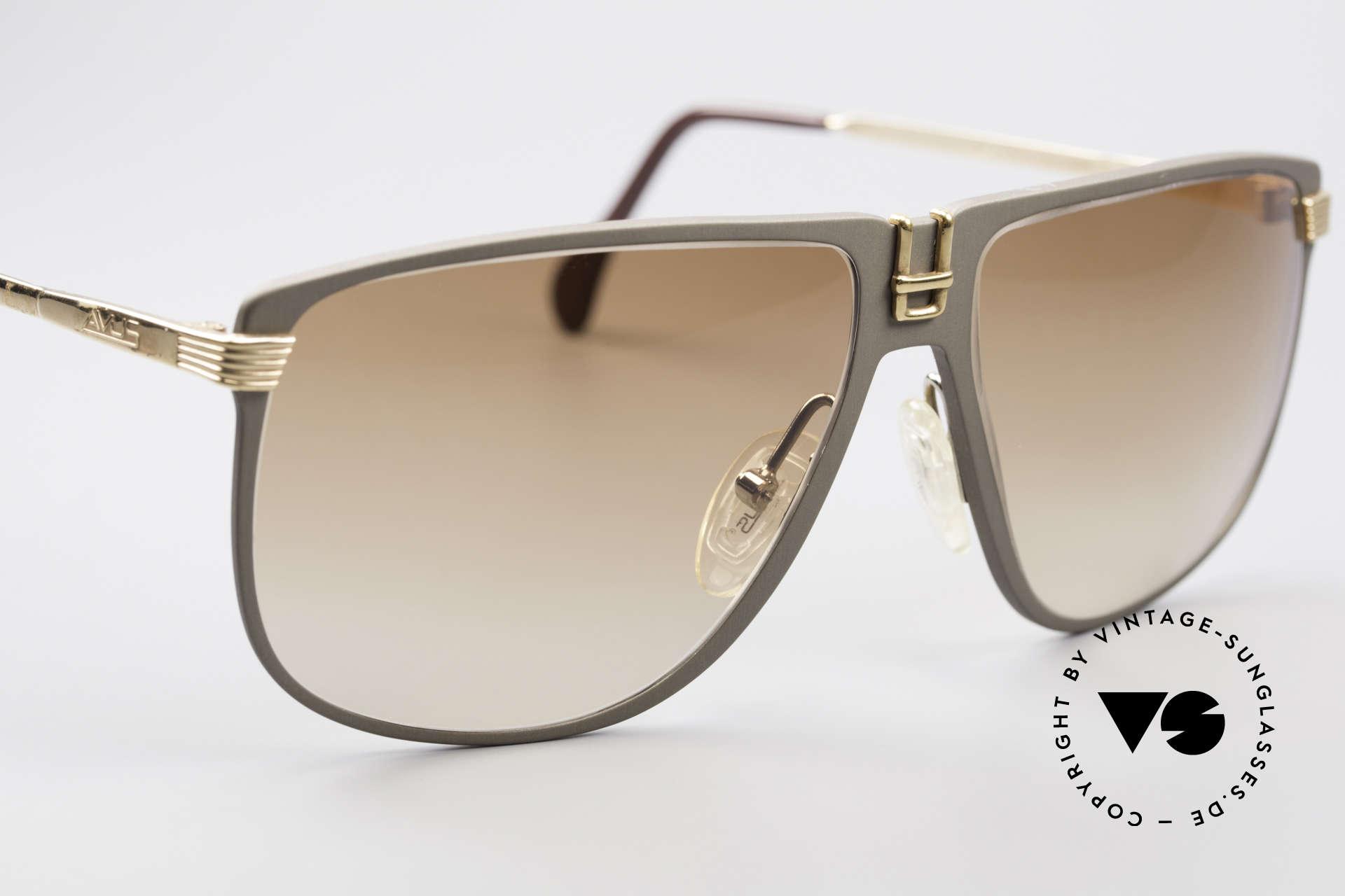 AVUS 210-30 West Germany Sunglasses, never worn (like all our RARE 1980's AVUS sunglasses), Made for Men