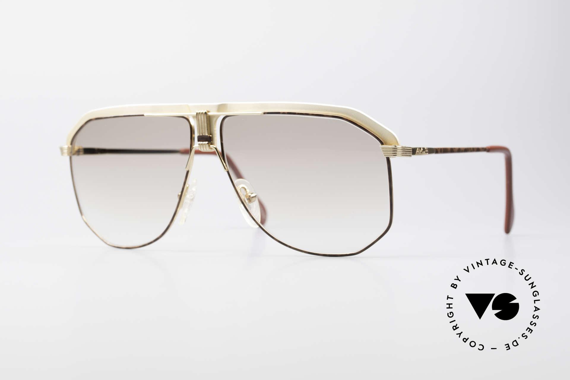 AVUS 2-130 Men's Luxury 80's Shades, premium AVUS vintage 80's designer sunglasses, Made for Men