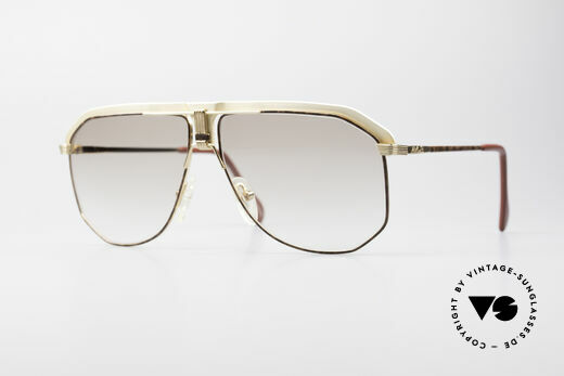AVUS 2-130 Men's Luxury 80's Shades Details