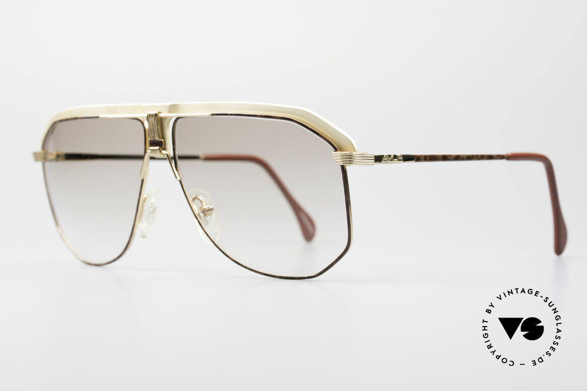 AVUS 2-130 Men's Luxury 80's Shades, true 'gentleman sunglasses' - just precious & rare!, Made for Men
